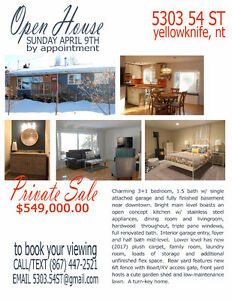 Open House - 5303 54 St, By Appointment