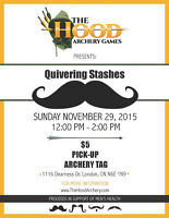 Support Movember at The Hood Archery Games