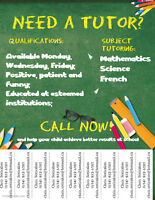 Elementary/High School Tutoring