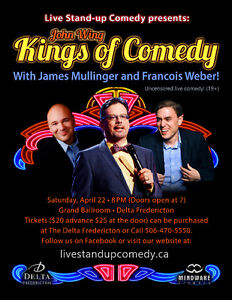 JOHN WING and the KINGS OF COMEDY