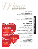 Valentines Day Dinner Package at Holiday Inn Kitchener!