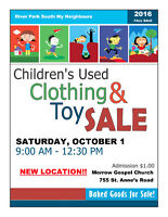 VENDORS WANTED: RPS My Neighbours Children's Used Toy sale