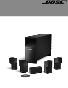 Bose Acoustimass 10 Series IV 5.1 Home Theater