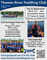 Dragon boating at Wildwood Conservation Area