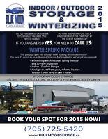 WINTERIZING, SHRINK & STORAGE FOR YOUR BOAT (Mercury, Volvo &..