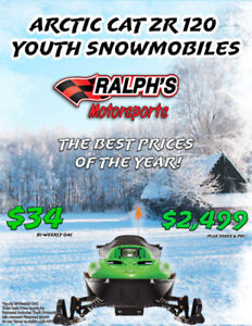 Arctic Cat ZR 120 Youth Snowmobiles
