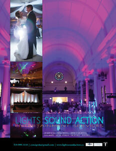 Wedding Event Lighting and Uplighting Services Disc Jockey Windsor Region Ontario image 7