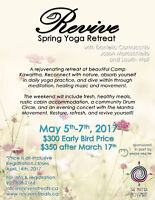 Revive Spring Yoga Retreat!