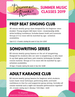 Summer Music Lessons and Workshops!