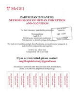 Paid Participants Needed for Psychology Study