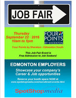 Edmonton Job Fair