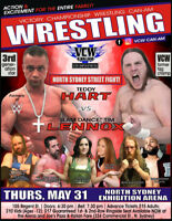 Live PRO WRESTLING WWE Style in North Sydney with TEDDY HART!