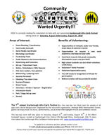VOLUNTEERS WANTED: 7th Annual SCARBOROUGH AFRO - CARIB FEST!