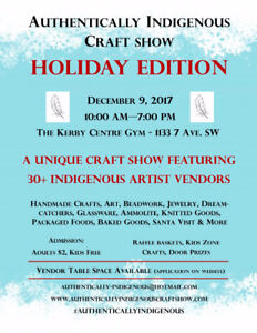 Authentically Indigenous Craft Show 'Holiday Edition'