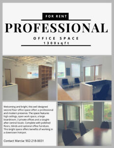 Professional Office Space for Rent -- Charlottetown PEI