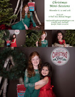 Christmas Mini Sessions (Indoor set) with Loft Photography