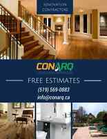 Great Rates, Great Dates on All Renovation Projects. Call Today!