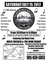 Flamboro Valley's Fifteenth Annual Car Show