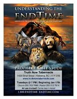Prophetic Bible Study - Tuesdays @ 7PM