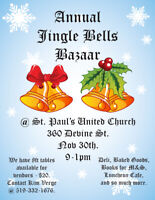 St. Paul's Jingle Bell Bazaar