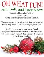 Annual OH WHAT FUN Art, Craft, and Trade Show in Drinkwater, SK