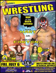 Live WRESTLING WWE-Style in-person w/Teddy Hart!