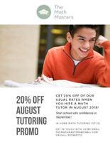 The Math Masters - math tutoring service