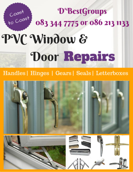 PVC Double Glazing Window & Door Repairs
