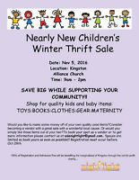 Nearly New Children's Winter Sale