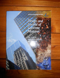 DESIGN AND CONTROL OF CONCRETE MIXTURES 8TH CANADIAN EDITION
