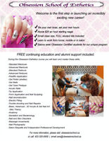 CERTIFIED NAIL COURSE- BOOK NOW AND SAVE $500!!!!