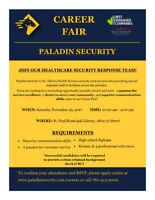 Paladin Security Career Fair / Open House - St. Paul