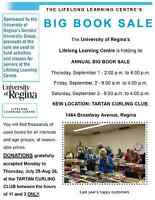 BOOKS FOR THE U OF R's LLC BIG BOOK SALE