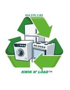 FREE PICK UP : Old Used Stoves-Washers-Dryers-Fridges-Freezers
