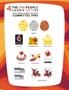 Wanted Canada Summer Games 2017 Pins from Winnipeg