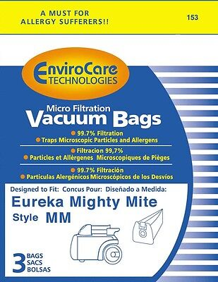 Eureka Type Mm Mighty Mite Canister Vacuum Cleaner Bags 60295b