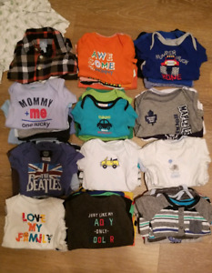 Over 150 piece baby boy lot ALL YOU NEED FOR 0-3m