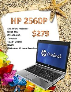 BACK TO SCHOOL SALE - HP Elitebook 2560P Only $279!