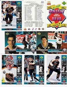 Plusieurs séries Cartes de Hockey (89-90-91-92-93) : 1864 cartes