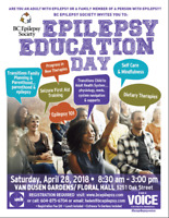 BC Epilepsy Society Education Day 2018