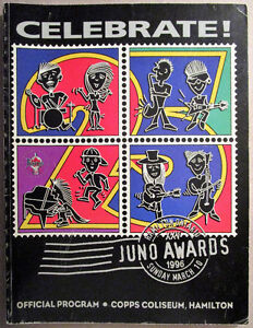 Juno Awards 25th Anniversary Package from 1996