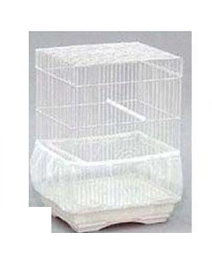"JT BIRDIE BLOOMER SEED GUARD 40 X 85"" X 10"" SUPER WHITE MESH #641 FREE SHIP USA"