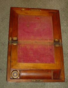 "Antique 1800s Writing desk with ink well ""NEW PRICE"" London Ontario image 4"