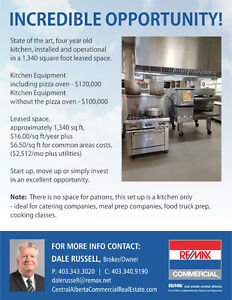 Incredible Opportunity - Commercial Kitchen