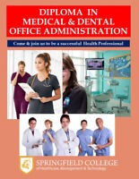 Diploma in Medical & Dental Office Administration – 27 weeks