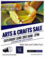 Arts and Crafts Sale