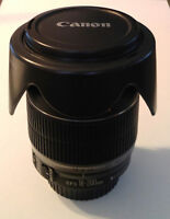 [REDUCED] Canon 18-200 IS EF-s lens with original hood/caps/box