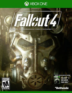Xbox One - Fallout 4 - previously played - Mint condition