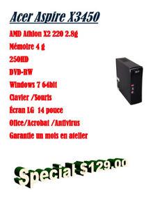 Acer Aspire X3450