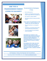 Are you a Transgender Parent Living in Calgary and area?